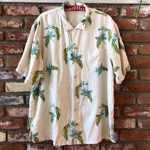 Tommy Bahama Tropical Silk Hawaiian Aloha Shirt